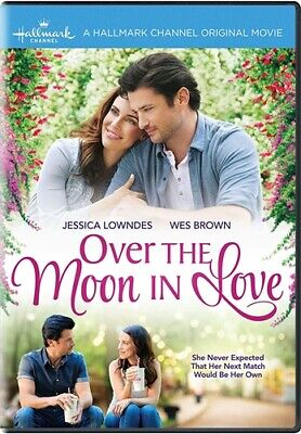 OVER THE MOON IN LOVE New Sealed DVD Hallmark Channel Jessica Lowndes Wes Brown