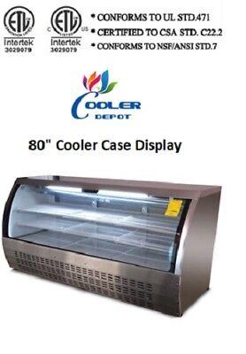 80 In Commercial Deli Bakery Pastry Cooler Case Display Fridge Dc200 Nsf