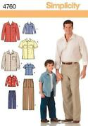 Boys Shirt Sewing Pattern