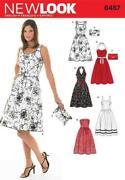Strapless Dress Sewing Pattern