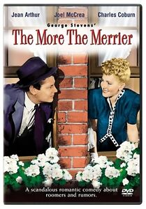 THE MORE THE MERRIER New Sealed DVD Jean Arthur Joel McCrea