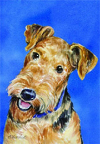 Airedale Terrier Decorative House Flag 20027