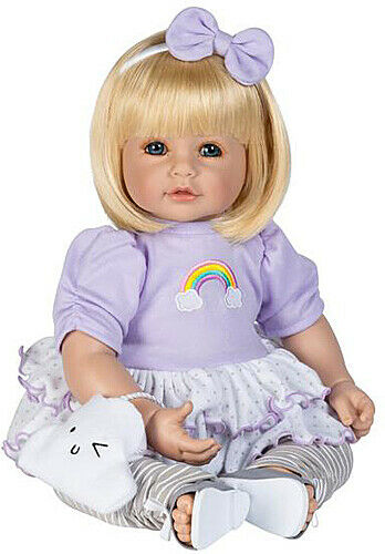 Adora Dolls ToddlerTime Over the Rainbow, 20 inch vinyl, New