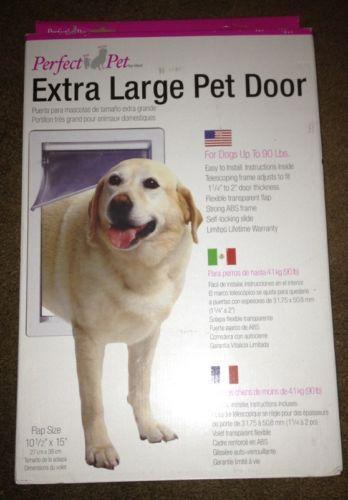 Extra Large Pet Door Ebay