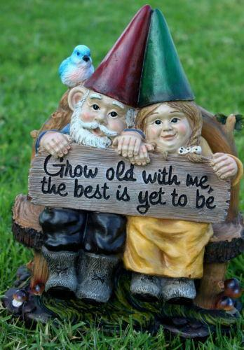 Gnome Couple Ebay