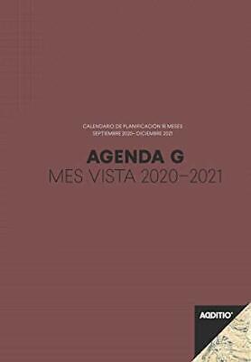 Agenda G 2020-2021 mes vista para el profesorado - P182 - Additio