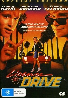 License To Drive (REGION 4 DVD New)