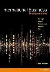 International Business: The New Realities by John Riesenberger, Hussain G. Ramm…