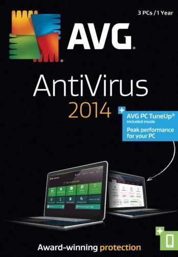 AVG AntiVirus With PC Tune Up