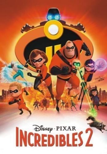 Incredibles 2 (2018 DVD) Ships 11/6 NEW SHIPS FROM USA