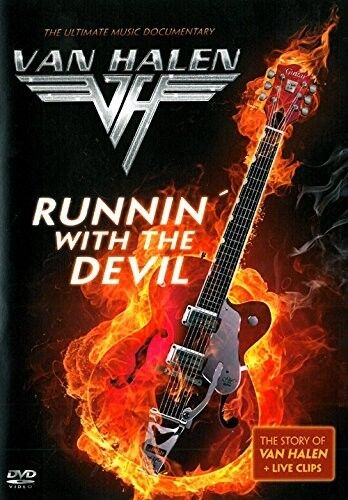 VAN HALEN - RUNNIN WITH THE DEVIL  DVD NEU