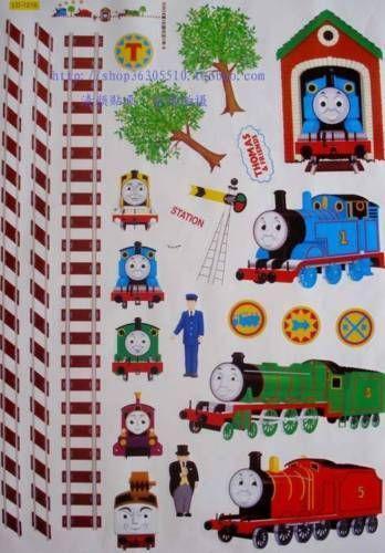 Thomas The Tank Engine Wall Stickers Ebay