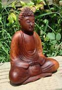 Wooden Thai Buddha
