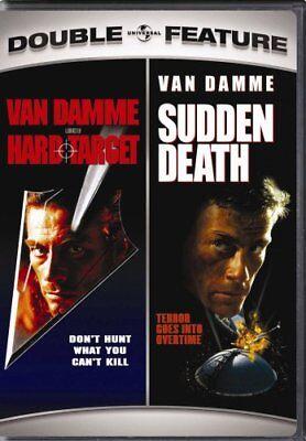 HARD TARGET + SUDDEN DEATH New Sealed 2 DVD Jean Claude Van Damme Double Feature