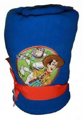 "Boys Disney 50""x60"" Toy Story BUZZ WOODY- Baby Christmas Gift blanket"