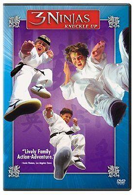 3 Ninjas Knuckle Up NEW FS DVD RARE! Family Fun Movie Multilanguages