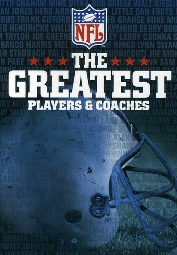 NFL: The Greatest Players & Coaches (2006, REGION 1 DVD New)
