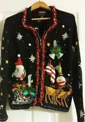 Ugly Christmas Sweater Womens Medium