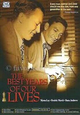 THE BEST YEARS OF OUR LIVES -Myrna Loy/Fredric March - Korean Import All Reg