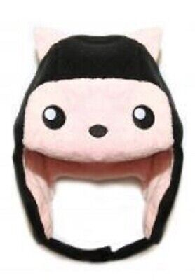Crazyheads Kids Fleece Cat Trapper Hat Pink 6-18 Mo
