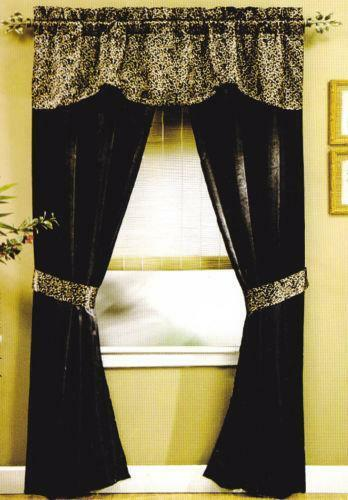 Cheetah Curtains Ebay