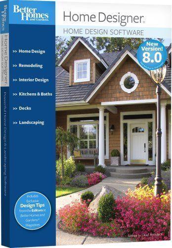 Better Homes And Gardens Home Designer 8.0