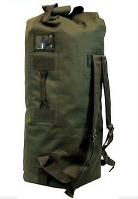 "Large ARMY DUFFELBAG Hunting Gear DUFFEL BAG Bags 36"" Inches Travel OD Green"