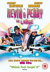 Kevin And Perry Go Large DVD 2000 Harry Enfield ★ New ★