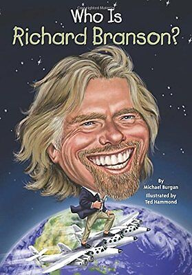 Who Is Richard Branson   Who Was   By Michael Burgan