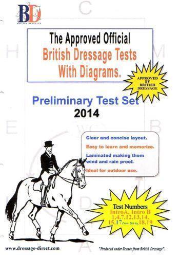 dressage tests equestrian ebay. Black Bedroom Furniture Sets. Home Design Ideas