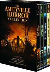 THE AMITYVILLE HORROR COLLECTION New 4 DVD Set Amityville 1 2 3