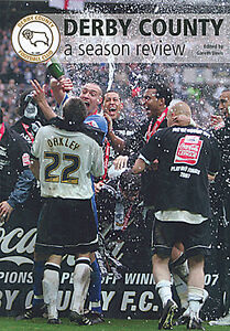 Derby County - A Season Review 2006-2007 - The Rams - Hardback Illustrated book
