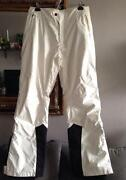 Womens White Snowboard Pants