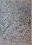 Vintage Paris Maps
