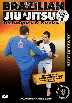 Brazilian Jiu-Jitsu Techniques and Tactics DVD Self-Defense Vol 7- Free Shipping