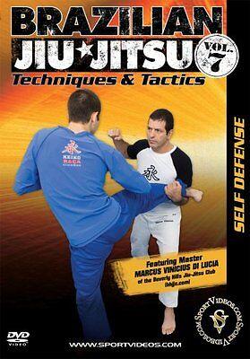 Brazilian Jiu-Jitsu Techniques and Tactics DVD Self-Defense - Free Shipping