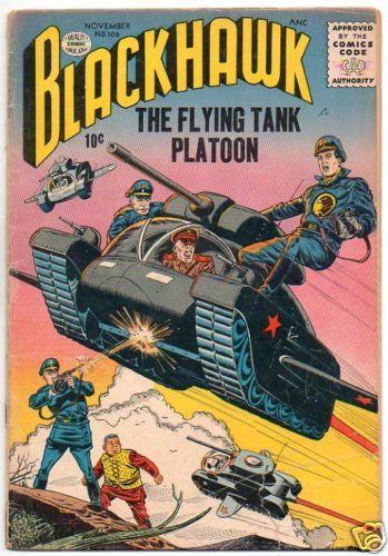 BLACKHAWK :: 106 :: THE FLYING TANK PLATOON