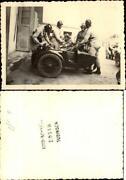 Motorrad mit Beiwagen