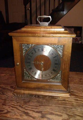 Elgin Mantel Clock Ebay