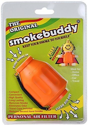 Smoke Buddy Original Personal Air Purifier Cleaner Filter Removes Odor! - Blue
