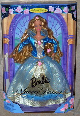 Barbie Children's Collectors Series LittleLamb Sleeping Beauty Rapunzel NRFB New