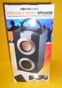 Portable Media Speaker