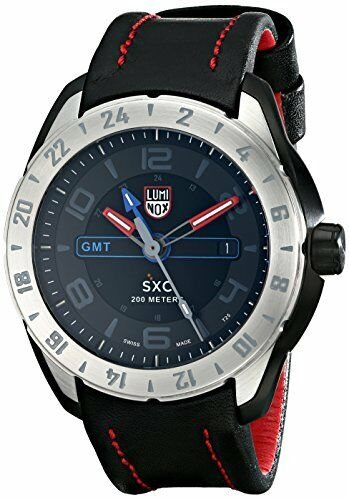 Luminox Men's 5127 SXC PC Carbon GMT Analog Display Analog Quartz Black Watch