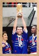 Zidane Signed