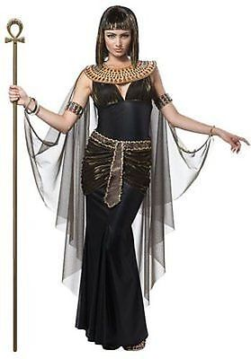 Adult Womens Cleopatra Queen Egyptian Pharaoh History Halloween Costume 01222 - History Halloween