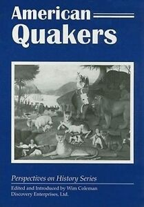 American Quakers by Coleman, Wim -Paperback