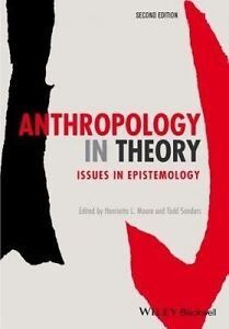 Anthropology In Theory  BOOK NEW