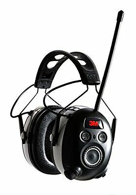 3M WorkTunes Wireless Hearing Protector with Bluetooth Technology and AM/FM