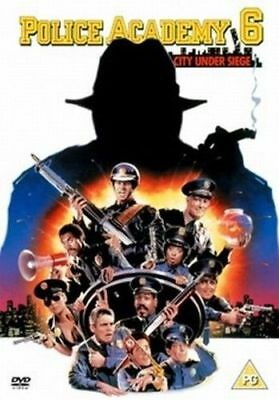 Police Academy 6  City Under Seige   (DVD)   **Brand New!**   (City Under Seige)