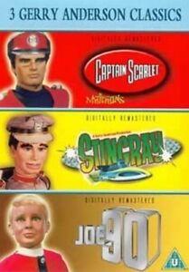 Joe 90/Captain Scarlet/Stingray DVD (2003) Gerry Anderson ***NEW***